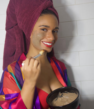 Fallon Aurielle Rejuvenating Clay Mask Skincare Jar