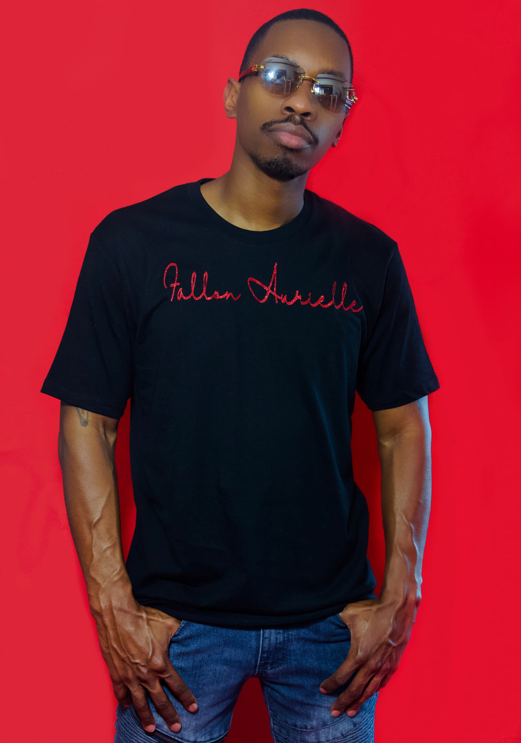 Fallon Aurielle Unisex Signature T-Shirt (Black)