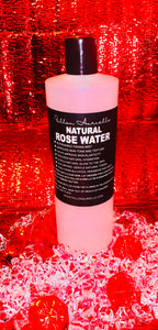 Fallon Aurielle Natural Rose Water Skincare Refill Bottles