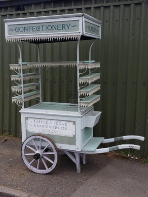 Traditional confectionery cart barrow for hire