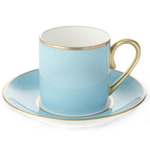 Furniture hire and equipment rentals - Harlequin Turquoise Cup and Saucer