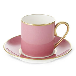 Furniture hire and equipment rentals - Harlequin Pink Cup and Saucer
