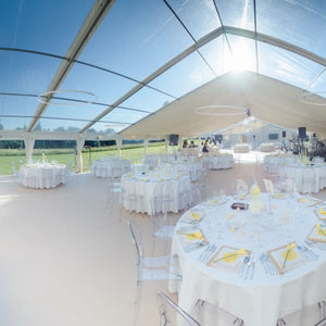 Furniture hire and equipment rentals - Abbas Marquees Clear Span Frame