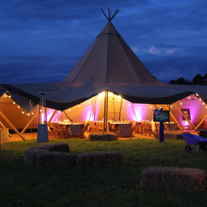 Furniture hire and equipment rentals - Abbas Marquees Kata Tipi