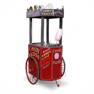 Popcorn hire traditional stand cart