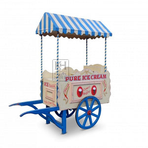 Traditional ice cream cart hire barrow market stall (1379558457380)