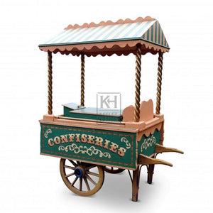 Traditional ice cream and sweet cart barrow for hire