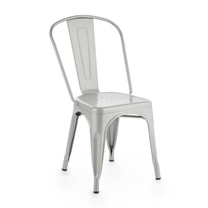 Furniture hire and equipment rentals - Silver Cafe Culture Chair (1214287020068)