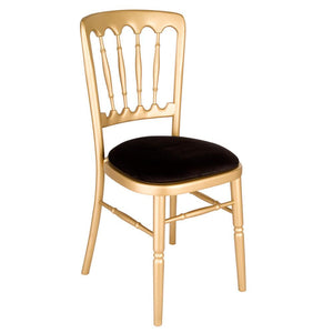Furniture hire and equipment rentals - Gold Banqueting Chair (1214287282212)