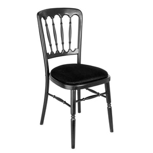 Furniture hire and equipment rentals - Black Banqueting Chair