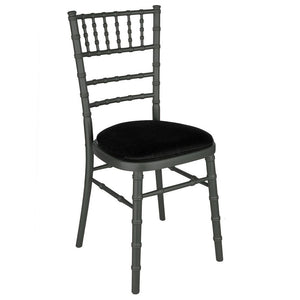 Furniture hire and equipment rentals - Anthracite Camelot Chair
