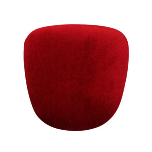 Furniture hire and equipment rentals - Red padded seat for Tolix Style Chair