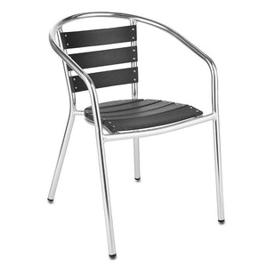 Furniture hire and equipment rentals - Aluminium Chair with Back Slats