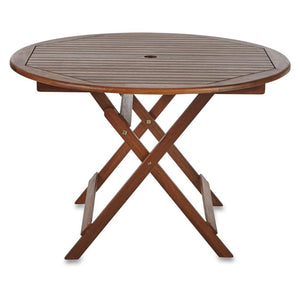 Furniture hire and equipment rentals - Round Wood Table