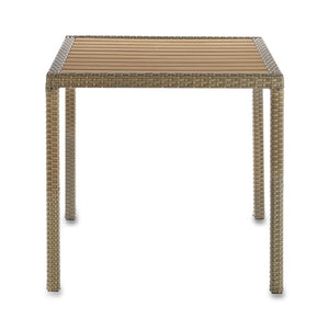 Furniture hire and equipment rentals - Rattan Square Table