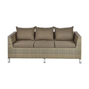 Furniture hire and equipment rentals - Rattan Sofa