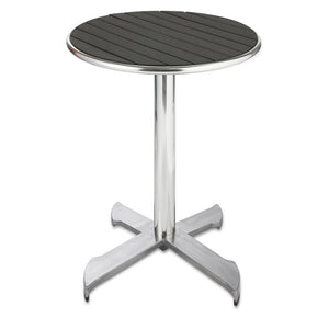 Furniture hire and equipment rentals - Garden Round Black Table