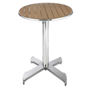 Furniture hire and equipment rentals - Garden Round Wood Table