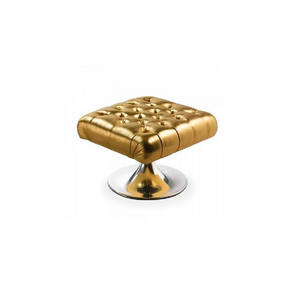 Furniture hire and equipment rentals - Low Gold Stool (1218675048484)