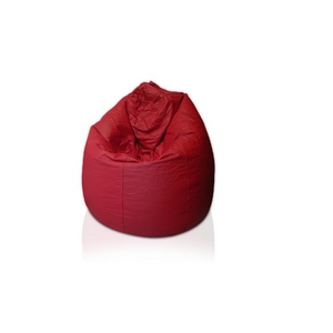 Furniture hire and equipment rentals - Red Bean Bag Casual Lounge Chair