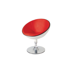 Furniture hire and equipment rentals - Red and White Swivel Chair (1218675376164)