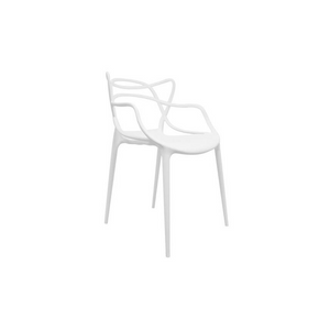 Furniture hire and equipment rentals - White Kartell Masters Chair