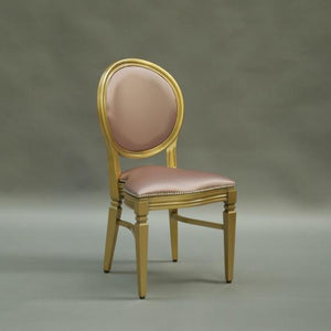 Banquet and wedding chair hire - Chandelle Rose Gold Chair