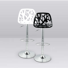Portugal stool hire black or white - ideal for Altice Arena Lisbon trade shows (1411055452196)