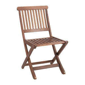 Chair hire events wooden outside teak folding chair (1526890922020)