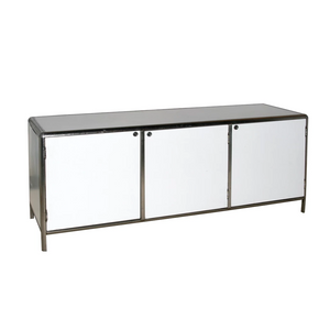 Metal sideboard event furniture hire Portugal Lisbon