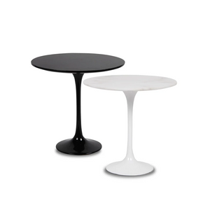 Furniture hire Portugal tulip table white or black