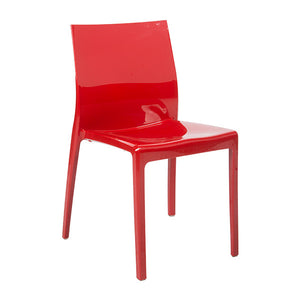 Event hire chair red