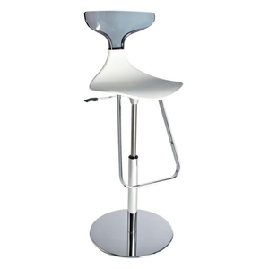 Event hire furniture France grey and white bar stool (4104695316516)