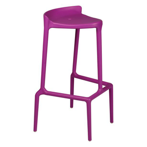 Event furniture hire for exhibitions and conferences in France purple bar stool