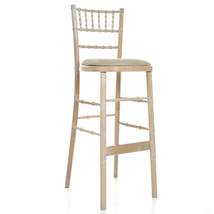 Event rental Ireland chiavari bar stool limewash