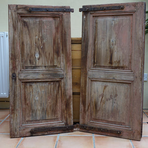 Furniture hire and equipment rentals - Vintage French Wooden Shutters