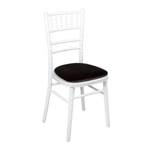 Chiavari chair hire various colour frames and pads available