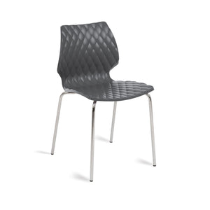 Furniture hire and equipment rentals - Honeycomb Chair Anthracite Grey (832169574436)