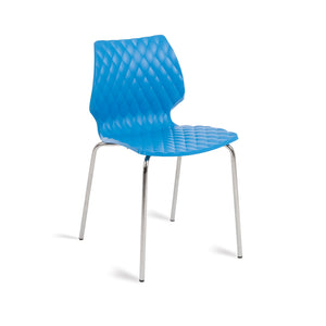 Furniture hire and equipment rentals - Honeycomb Chair Blue (832167968804)