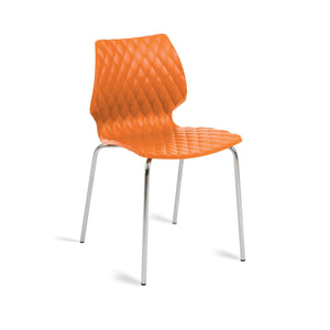 Furniture hire and equipment rentals - Honeycomb Chair Orange (832173506596)