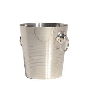 Furniture hire and equipment rentals - Champagne Ice Bucket in Silver (863667388452)