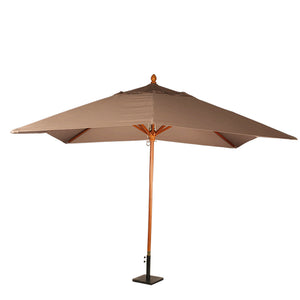 Furniture hire and equipment rentals - Louisiana Parasol Taupe