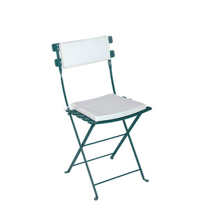 Furniture hire and equipment rentals - Trocadero Green Chair with White Seat Pad & Back