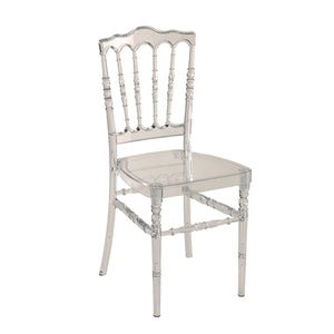 Furniture hire and equipment rentals - Cristal Napoleon III Chair (856950603812)
