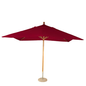 Furniture hire and equipment rentals - Louisiana Parasol Red