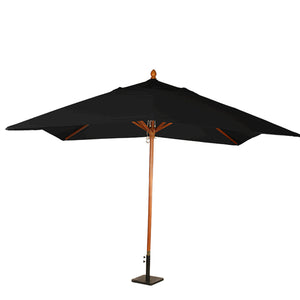 Furniture hire and equipment rentals - Louisiana Parasol Black