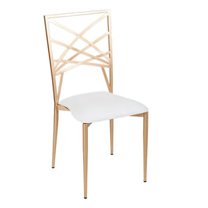 Furniture hire and equipment rentals - Beverly Chair with Cream Seat (853097316388)