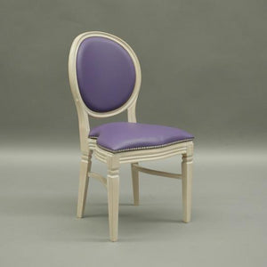 Purple wedding and banquet chair hire Chandelle UK