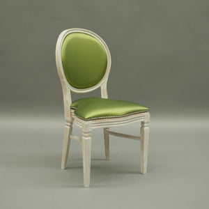 Chartreuse green wedding and banquet chair hire Chandelle UK