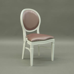 Rose wedding and banquet chair hire Chandelle UK